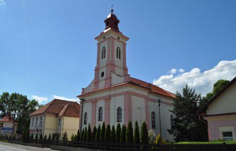 Oprava a náter fasády - Kostol Palúcka