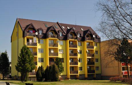 Zatepľovanie bytového domu, Tatranská Lomnica - Zníženie energetickej náročnosti objektu