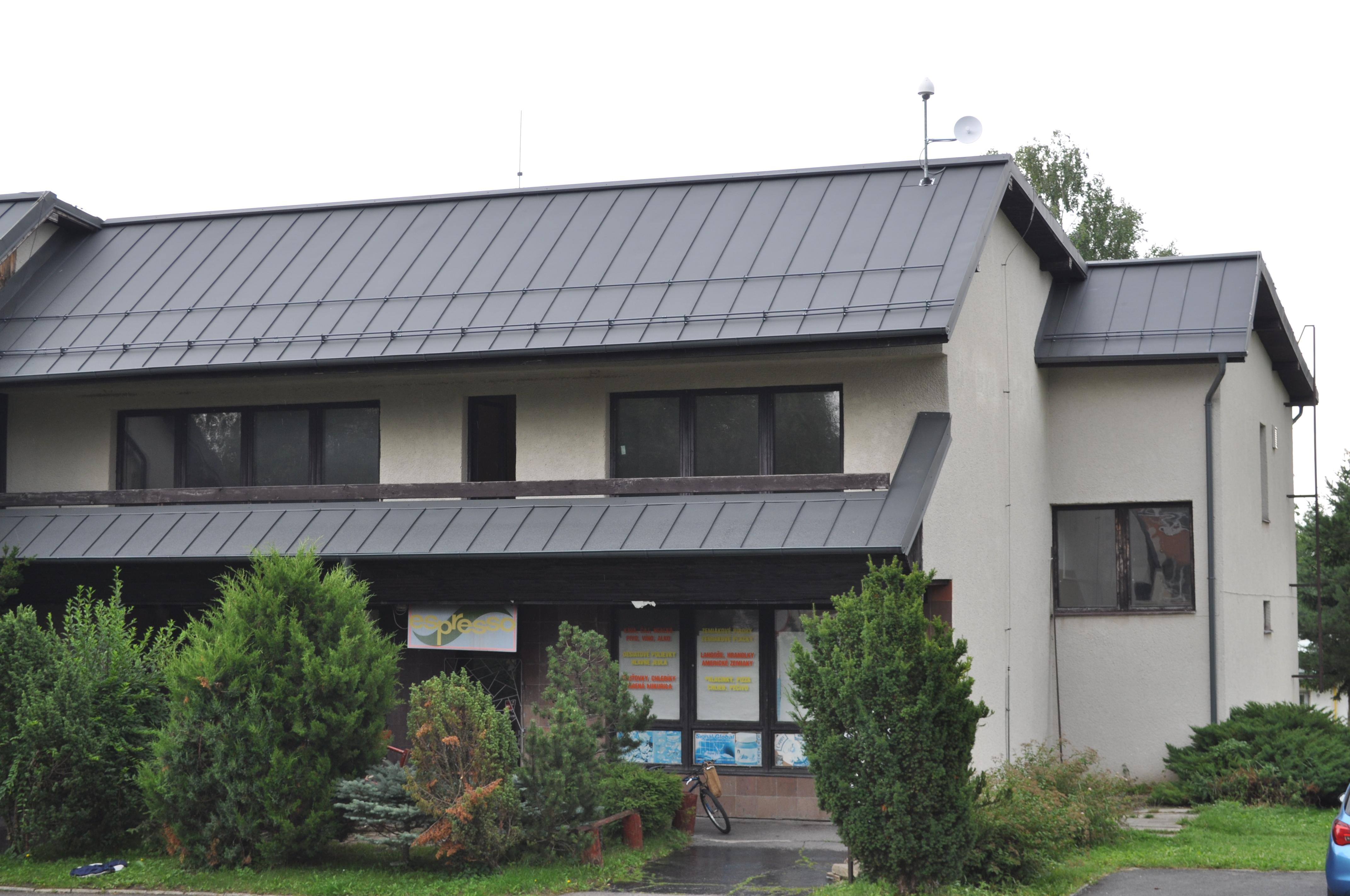 Zrekonštruovaná strecha